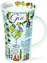 DUNOON Bone China Becher World of Gin Becher