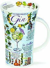 DUNOON Bone China Becher World of Gin Becher