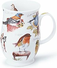 DUNOON Bone China Birdlife Birds Tasse Spatz