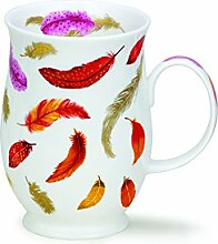 DUNOON Bone China Fantasy Feather Tasse - ro