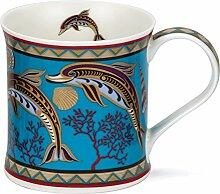 DUNOON Bone China Minerva Collection Tasse - Delfin