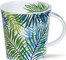 DUNOON Bone China Orinoco Farn Tasse - Palm