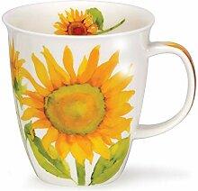 DUNOON Nevis Flora Sonnenblume Becher Design by
