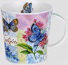 DUNOON Papillon Blue Dunoon Becher Lomond