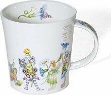 Dunoon Porzellan-Tasse in Lomond-Form Fairies