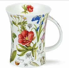 DUNOON Richmond Floral Diary Peony Dunoon Becher