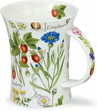 DUNOON Richmond Floral Diary Strawberry Dunoon Becher
