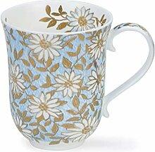 Dunoon Tasse aus Feinem Porzellan Braemar Form Aqua