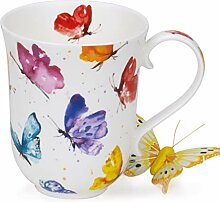 Dunoon Tasse aus feinem Porzellan BraemarForm Flug