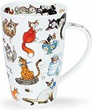 Dunoon Tasse aus feinem Porzellan, Henley-Form,
