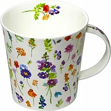 Dunoon Tasse Cairngorm Belles Fleurs Lila 480ml