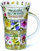 "DUNOON Tasse Form Glencoe Motiv ""Herbal"