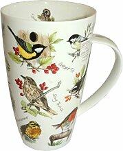 Dunoon Tasse Henley Birdlife 600ml Vogel Becher
