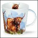 DUNOON Tasse Highland Kühe Scottish Serie