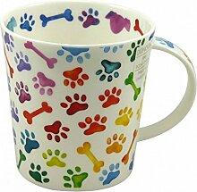 Dunoon Tasse Lomond Pawprints Dogs 320ml