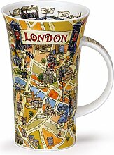 DUNOON Tasse mit Griff/Glencoe Motiv Tour of London