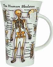 """DUNOON Tasse """"The Human Body"""""""