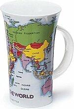 Dunoon Weltkarten-Tasse
