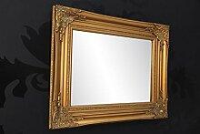 DuNord Design Barockspiegel Wandspiegel antik Gold
