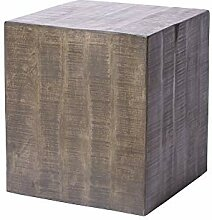 DuNord Design Beistelltisch grau 40cm Hocker