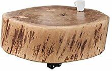 DuNord Design Couchtisch Baumstamm Baumscheibe