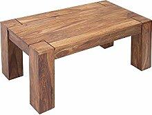 DuNord Design Couchtisch Holztisch Beistelltisch