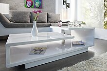 DuNord Design Couchtisch Sofatisch LEVEL 100cm