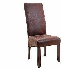 DuNord Design Esszimmerstuhl Stuhl Caracas 2er Set