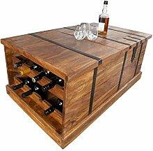 DuNord Design Hausbar Massivholz Couchtisch
