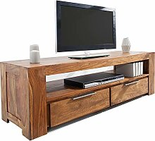 DuNord Design massives TV Board Lowboard Sheesham