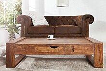 DuNord Design Massivholz Couchtisch