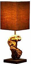 DuNord Design Tischlampe Treibholz Schwemmholz