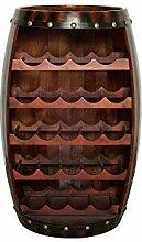 DuNord Design Weinregal Fass Holz Regal 23