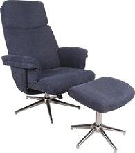Duo Collection Relaxsessel Sudbury blau
