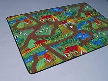 Duo Play HEVO® Teppich | Kinderteppich | Spielteppich Wendeteppich 200x280 cm