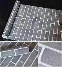DUOCK 3D Ziegel Stein Aufkleber Muster