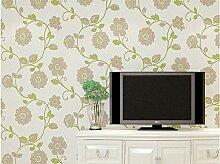 DUOCK Pastoralen Blumen Tapete Für Wohnzimmer