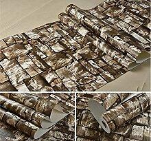 DUOCK Steinwand papier ziegel tapete für