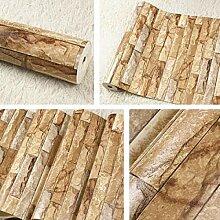 DUOCK Tapete Brick Vintage Für Wände 3 D Loft