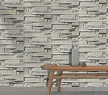 DUOCK Vintage Ziegel Tapete für Wände 3D