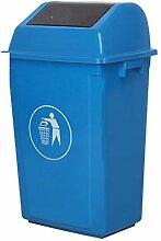 DUOER home Kunststoff Flip Top Abfall Abfall