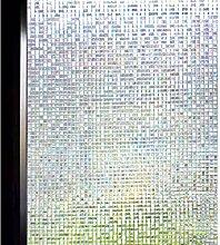DuoFire Buntglas Sichtschutz Glas Film nicht