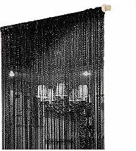 Duosuny Fadenvorhang für Türen, 28 x 275 cm,