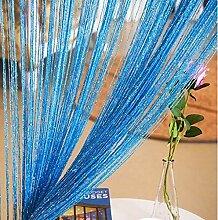 Duosuny Fadenvorhang für Türen, 99 x 198 cm,