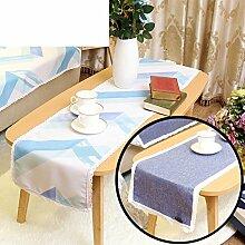 Duplex,Tischtischflagge/American Style,Ländlichen,Style,Einfache Tischfahne/Nordeuropa,Frische Couchtischfahne/Bett-runner-C 30x180cm(12x71inch)
