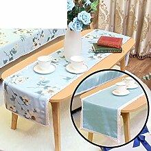 Duplex,Tischtischflagge/American Style,Ländlichen,Style,Einfache Tischfahne/Nordeuropa,Frische Couchtischfahne/Bett-runner-F 30x180cm(12x71inch)