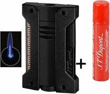 Dupont Feuerzeug Defi Extreme schwarz matt Je