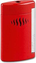 Dupont Mini-Jet Feuerzeug rot glänzend