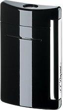 Dupont Mini-Jet Feuerzeug schwarz glänzend