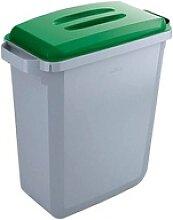 DURABLE Durabin 60 Mülleimer 60,0 grau, grün